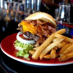 #FoodPorn alert! Jack Daniel's Burger