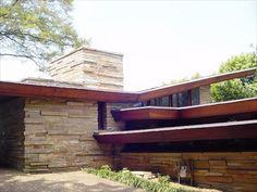 Shavin House / 334 North Crest Road, Chattanooga, TN / 1952 / Usonian / Frank Lloyd Wright