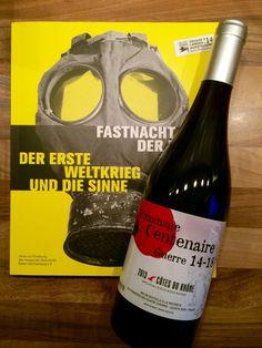 Reisesouvenir No. 10: Erinnerung an den Grande Guerre. Eine Flasche Wein fürs Haus der Geschichte - Foto © Welz