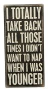 I totally take back all those times I didn't want to nap when I was younger