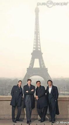 I wish I could have a photo with the Eiffel Tower in the background. That would be lovely.