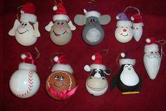 PrackRat's Gallery: Christmas light bulb ornaments