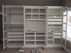 Ikea built in wardrobes