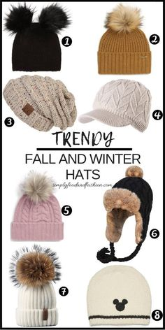 fcdca386382 Roundup of fall and winter hats for 2018! Cute and affordable accessories  to complete your