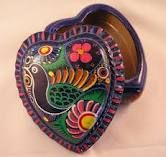 Mexican pottery....adding design, style and colour! Ole!