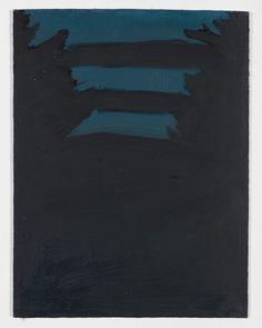 Alex Katz Lanscape Oil on board 11 7/8 x 9 inches (30.2 x 22.9 cm)