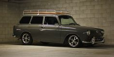 VW Type 3 Squareback. I don't care for the roof rack but the car is awesome!