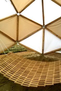 Geodesic dome hamak