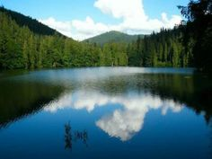 Настоящее чудо Украины: озеро Синевир. Фото