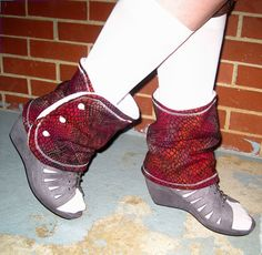 Scaley Leg Warmers/ Boot Toppers $20.00