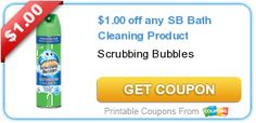Tri Cities On A Dime: $1.00 COUPON ON ANY SCRUBBING BUBBLES BATH CLEANIN...