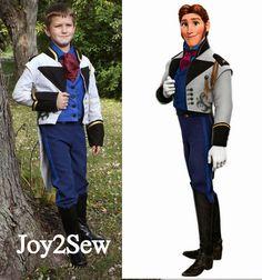 Joy 2 Sew: Hans Frozen Preview