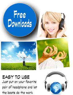 Download Free High Quality Binaural Beats for Brainwave Entrainment.    These audio files can help you relax, sleep, study, and more!