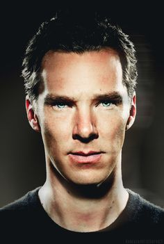 Benedict. those eyes... Those cheekbones... Those... Everything...it's perfection