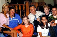 Buffy The Vampire Slayer: 33 Great Behind The Scenes Shots You Need To See Buffy The Vampire Slayer Funny, Buffy Summers, Firefly Serenity, Sarah Michelle Gellar, Joss Whedon, Season 8, Scene Photo, Life Design, The Vamps