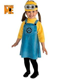 MINION COSTUME from the Catch My Party Store! #costume #minion