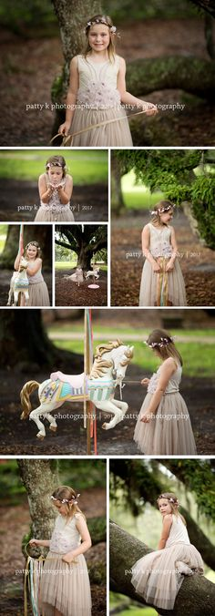 Carousel Horse Florida Sessions | Central Florida Photographer | Patty K Photography