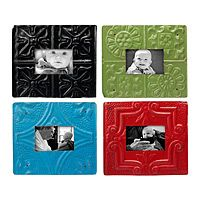 Recycled Ceiling Tin Frames from Uncommon Goods
