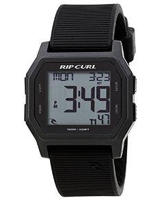 Rip Curl Men's Atom Digital Digital Display Quartz Grey Watch Rip Curl, Casual Watches, Cool Watches, Watches For Men, Popular Watches, Surf Watch, Golf Gps Watch, Grey Watch, Sport Watches