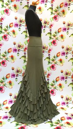 Wat is nieuw Ida Skirt Dance Outfits, Dance Dresses, Skirt Outfits, Dress Skirt, Flamenco Costume, Flamenco Skirt, African Dresses For Women, African Women, Purim Costumes