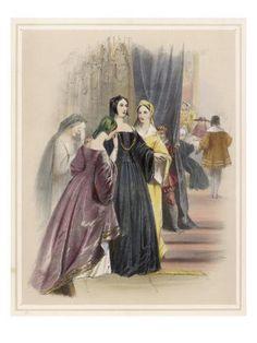 size: Giclee Print: Catherine of Aragon Wall Art : Catherine Parr, Catherine Of Aragon, Wives Of Henry Viii, King Henry Viii, Anne Of Cleves, Anne Boleyn, Framed Artwork, Wall Art, Tudor Era