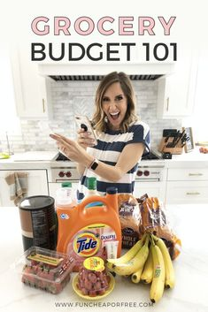 "Setting up a grocery budget isn't a difficult task, and it's one that you should figure out ASAP! We're going to answer that age-old question of ""How much should I spend on groceries?"" Get the tips here! Budgeting Finances, Budgeting Tips, Living On A Budget, Frugal Living, Deals To Meals, Cooking Tips, Cooking Recipes, Food Hacks, Food Tips"