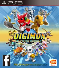 Digimon All Star Rumble | PS3 ISO | Free Download - PS3ISO Games | Free Download | TB Games PS3 ISO | Eboot  Fix 3.41 - 3.55 Jailbreak