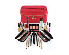 Brand New Elizabeth Arden Bright Lights, Big City Make Up Collection Elizabeth Arden Maquillaje, Elizabeth Arden Makeup, Elizabeth Arden Blockbuster, City And Colour, Perfume, Eye Makeup Remover, Pencil Eyeliner, Cosmetic Case, Makeup Brush Set