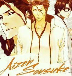 Aizen Sousuke. •Bleach•