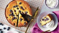 This moist, berry-studded cake gets its great texture from medium-grind cornmeal. Fresh blueberries are in abundance this time of year in the South. With the u-pick farms and farmers' markets, you can easily get carried away and come home with enough berries for cobblers, smoothies, muffins, and breads. Fortunately, blueberries freeze well, so if you don't bake up all of your berries in a day or two, you can store them in the freezer. Here are some quick tips so you can enjoy this seasonal…