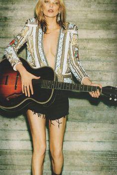Kate Moss by Mario Testino, Vogue Paris October 2012