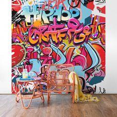 Graffiti poszter tapéta gyerekeknek. #poszter #poszter_tapéta #fotótapéta #lakásdekoráció #faldekoráció #óriásposzter #tapéta_ötletek #graffiti #gyerekszoba Graffiti, Google Images, Hip Hop, Comic Books, Berlin, Comics, Marvel, Art, Products