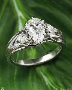 Vintage Engagement Rings, Vintage Rings, Engagement Rings Nature, Vintage Jewellery, Antique Jewelry, Wedding Band, Wedding Rings, Wedding Stuff, Wedding Photos