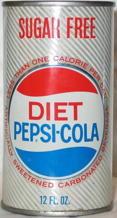 first diet pepsi can 1964