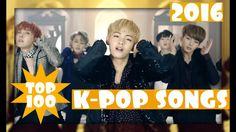 [TOP 100] MOST POPULAR K-POP SONGS - NOVEMBER 2016!