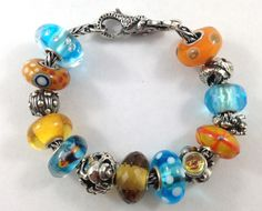 Aquarium Trollbeads Bracelet, By Cristi of Tartooful