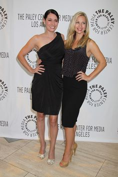 Paget Brewster and A.J. Cook at the 2011 PaleyFest Fall TV Preview presents Criminal Minds at the Paley Center for Media, Beverly Hills, ...