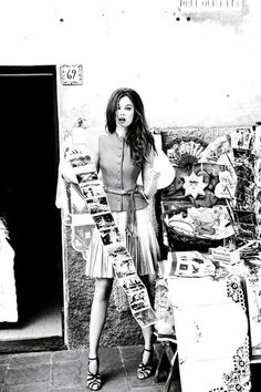 Dior Cruise 2012 Lookbook, Jac in Portofino by Ellen Von Unwerth