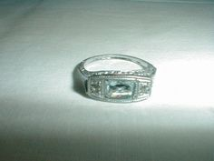 antique edwardian sterling silver ring by qualityvintagejewels, $95.00