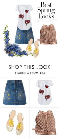 """""""best spring looks"""" by monika-sid on Polyvore featuring H&M, Alice + Olivia and nooki design"""