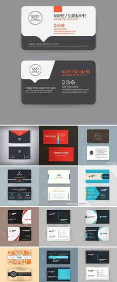 best Ideas for medical design graphics business cards Elegant Business Cards, Modern Business Cards, Name Card Design, Identity, Bussiness Card, Medical Design, Design Poster, Branding, Design Graphique