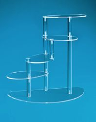Four Tier Spiral Display