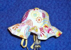Baby Sunhat Abstract Design by AdorableandCute on Etsy, $24.00