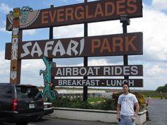 Day #7 - Entrance @Everglades Safari Park