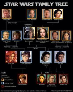 Star Wars Family Tree...