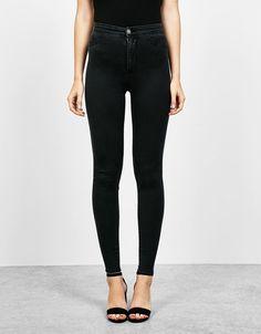 Bershka Colombia - Jegging tejido soft skinny super high waist