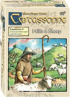 Carcassonne Board Game Expansion: Hills And Sheep Details and Review