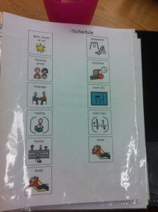Student Visual Schedules {2013/2014 School Year Edition} - The Autism Helper