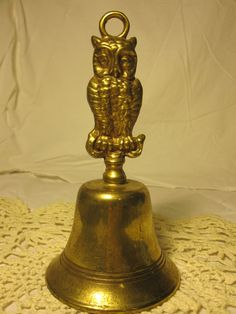 One can't have enough owl brass bells!