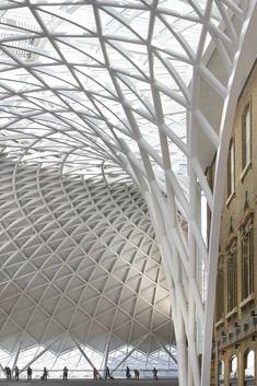 King's Cross Station. John McAslan + Partners. Hufton + Crow Photographic Portfolio.